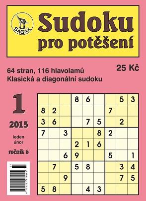 obálka Sudoku pro potì¹ení