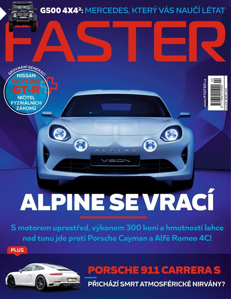 obálka Faster Magazine