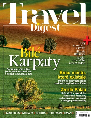 obálka Travel Digest