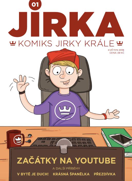obálka Jirka na Slovensko