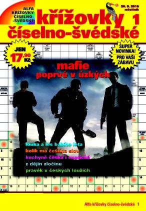 obálka Alfa křížovky číselno-švédské