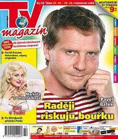 obálka TV Magazín