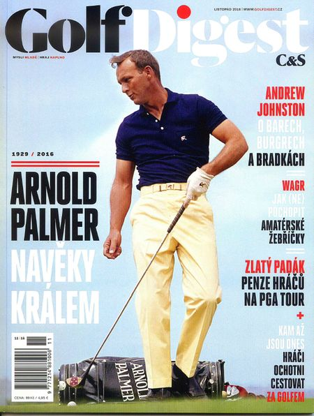 obálka Golf Digest