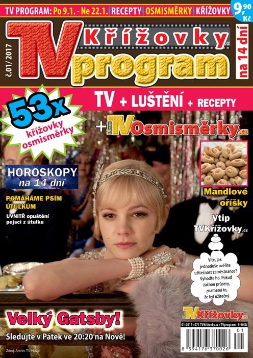 obálka TV program TVkøí¾ovky.cz
