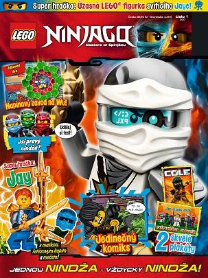 obálka Lego Ninjago