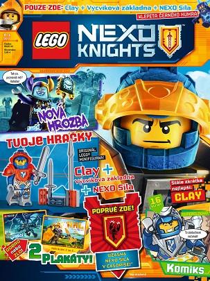 obálka Lego Nexo Knight