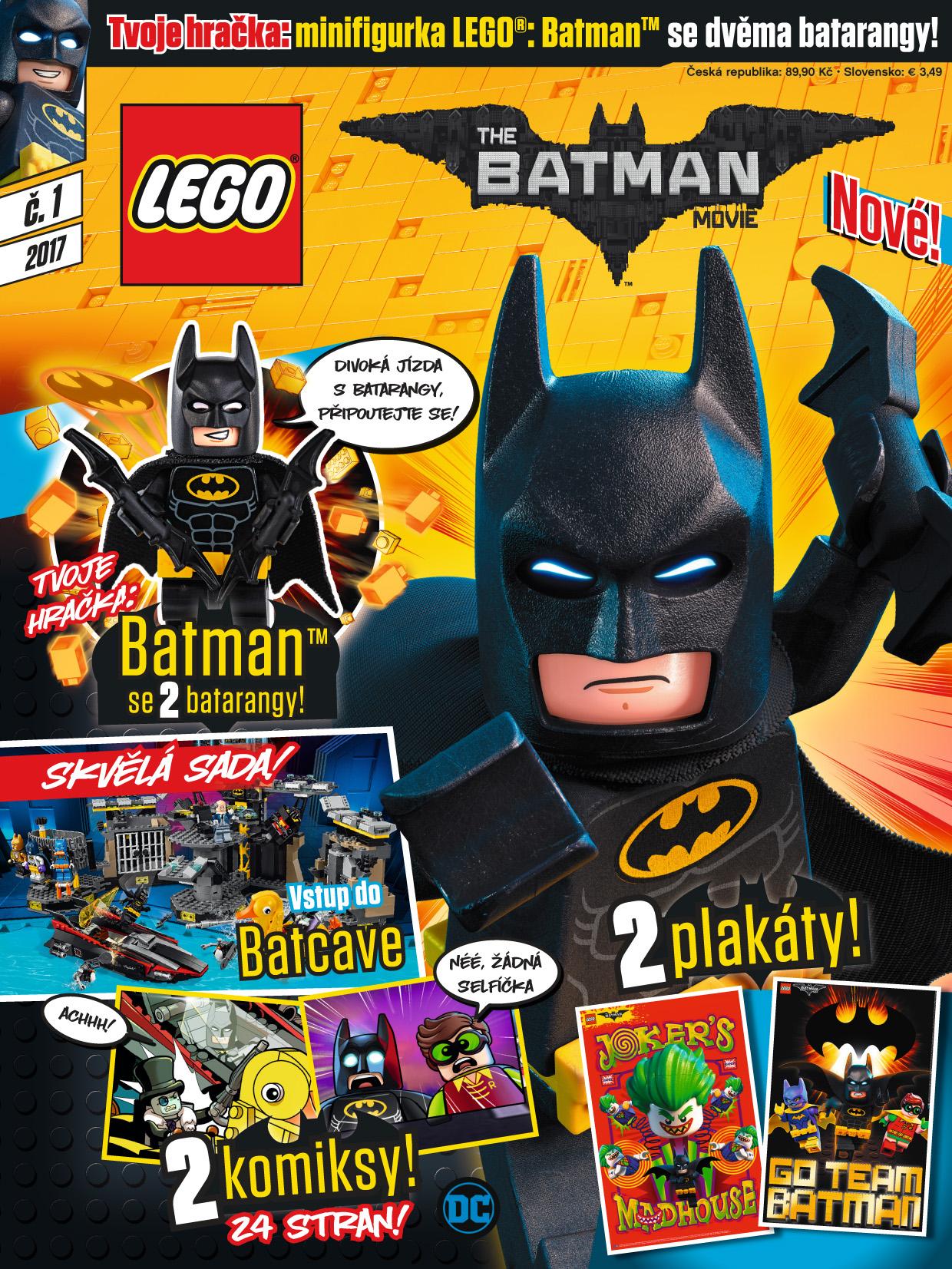 obálka Lego Batman