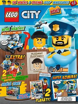 obálka Lego City
