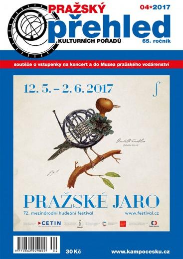 obálka Pražský přehled kulturních pořadů