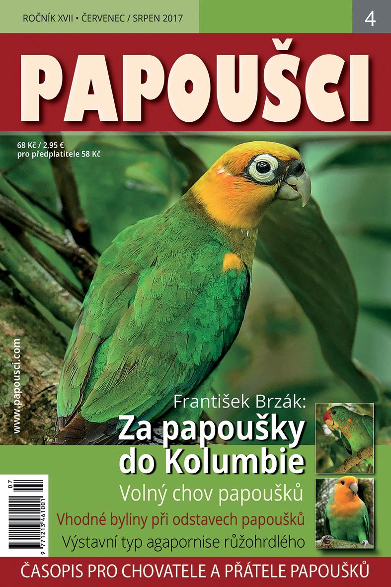 obálka Papoušci