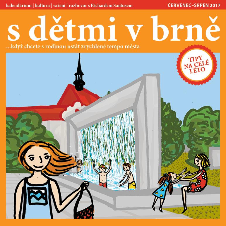 obálka S dětmi v Brně