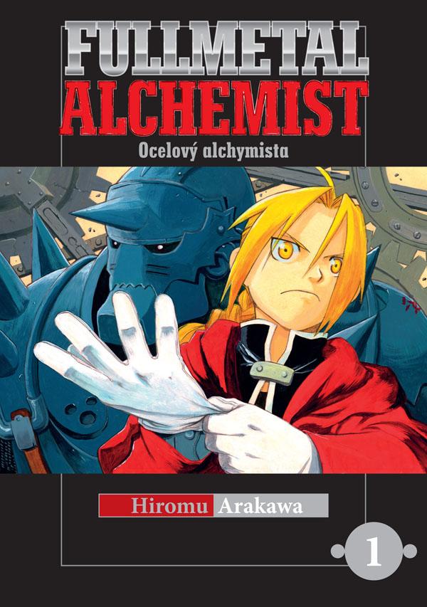 obálka Fullmetal Alchemist