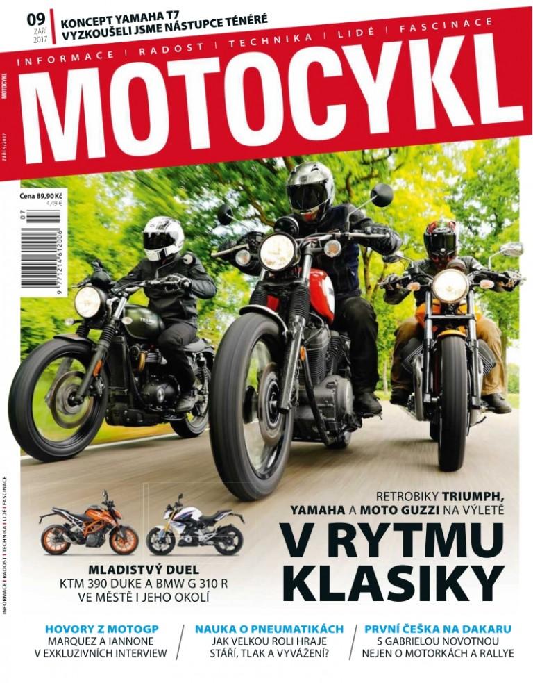 obálka Motocykl