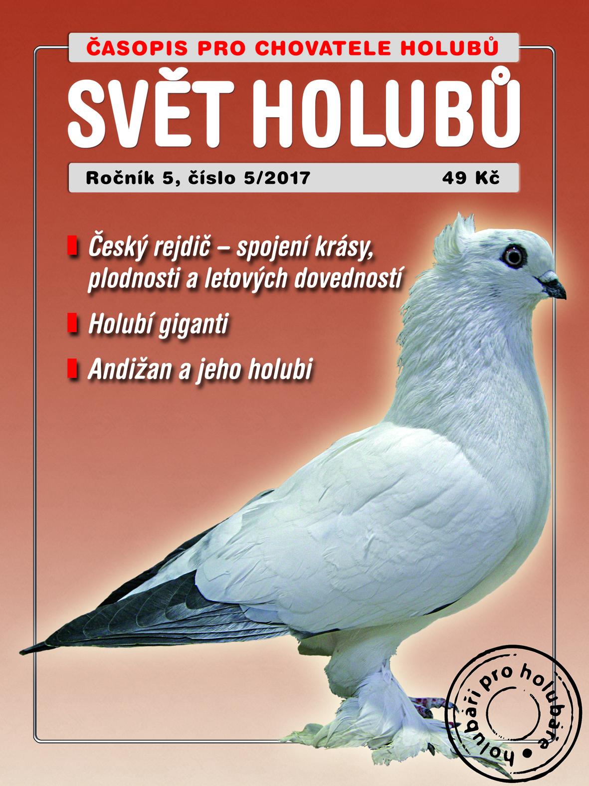 obálka Svět holubů