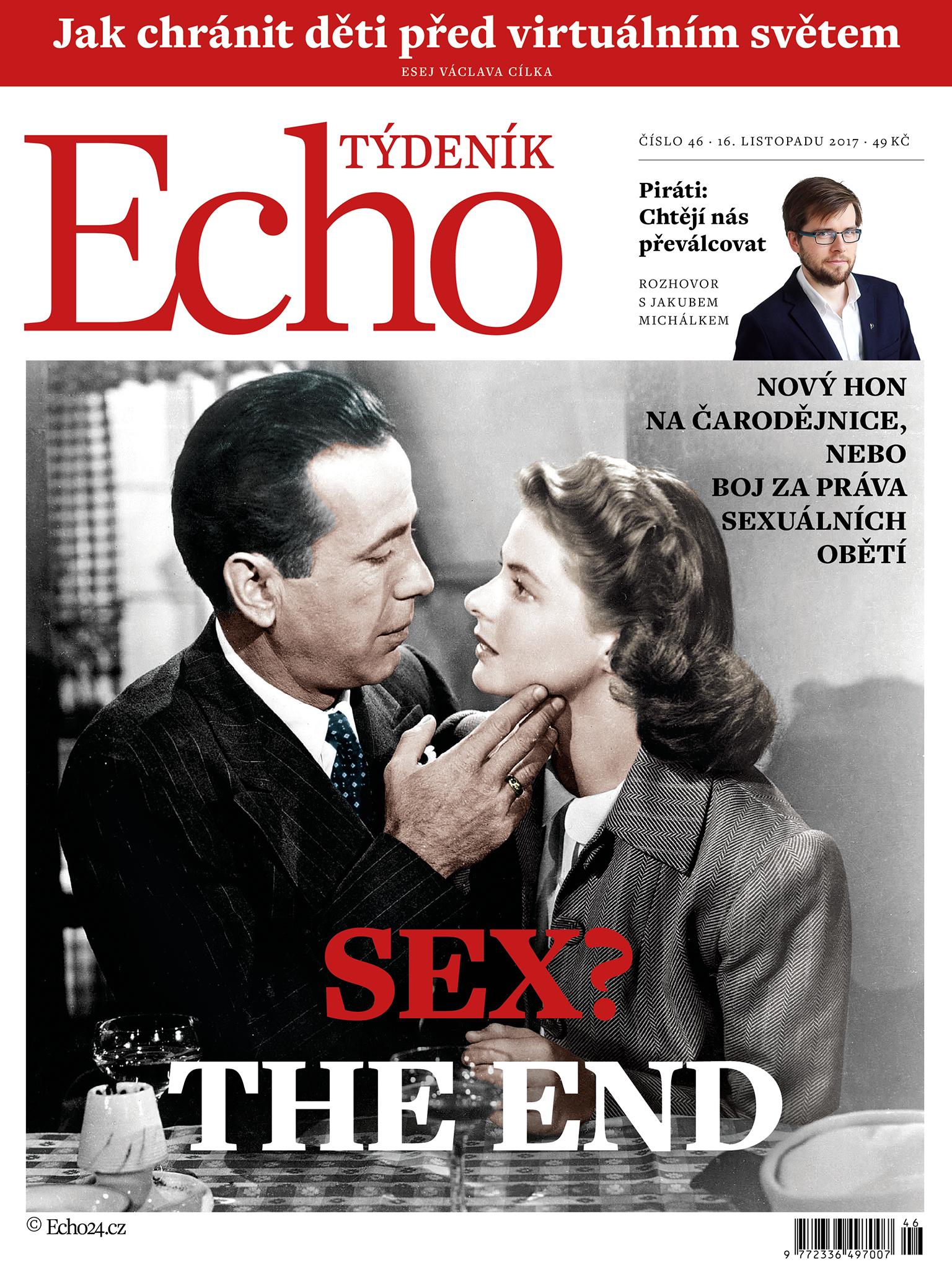obálka Týdeník Echo