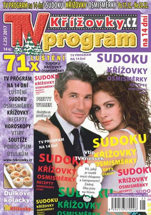 obálka TV program TVkřížovky.cz