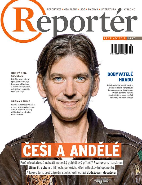 obálka Reportér
