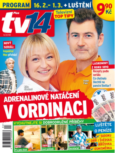 obálka TV Plus 14
