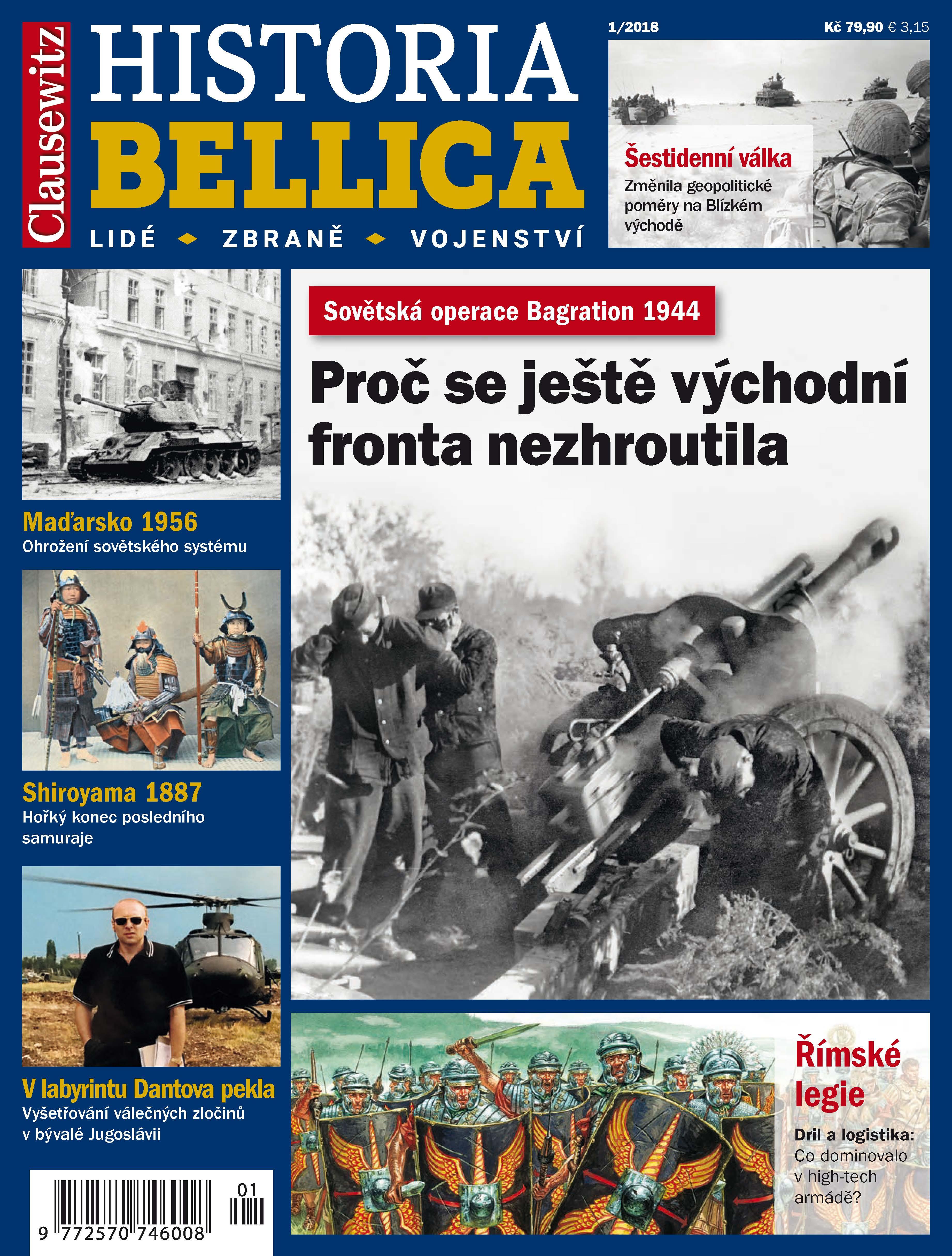 obálka Historia Bellica