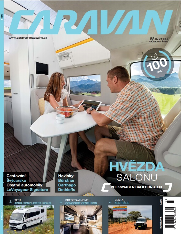 obálka Caravan Magazine