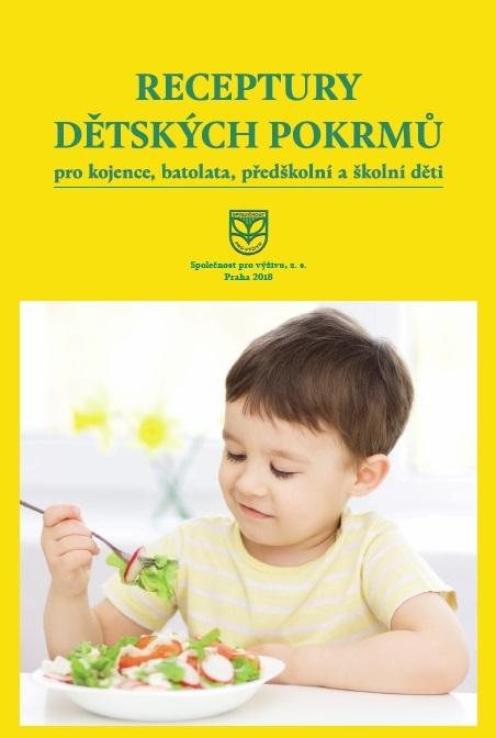 obálka Receptury dětských pokrmů