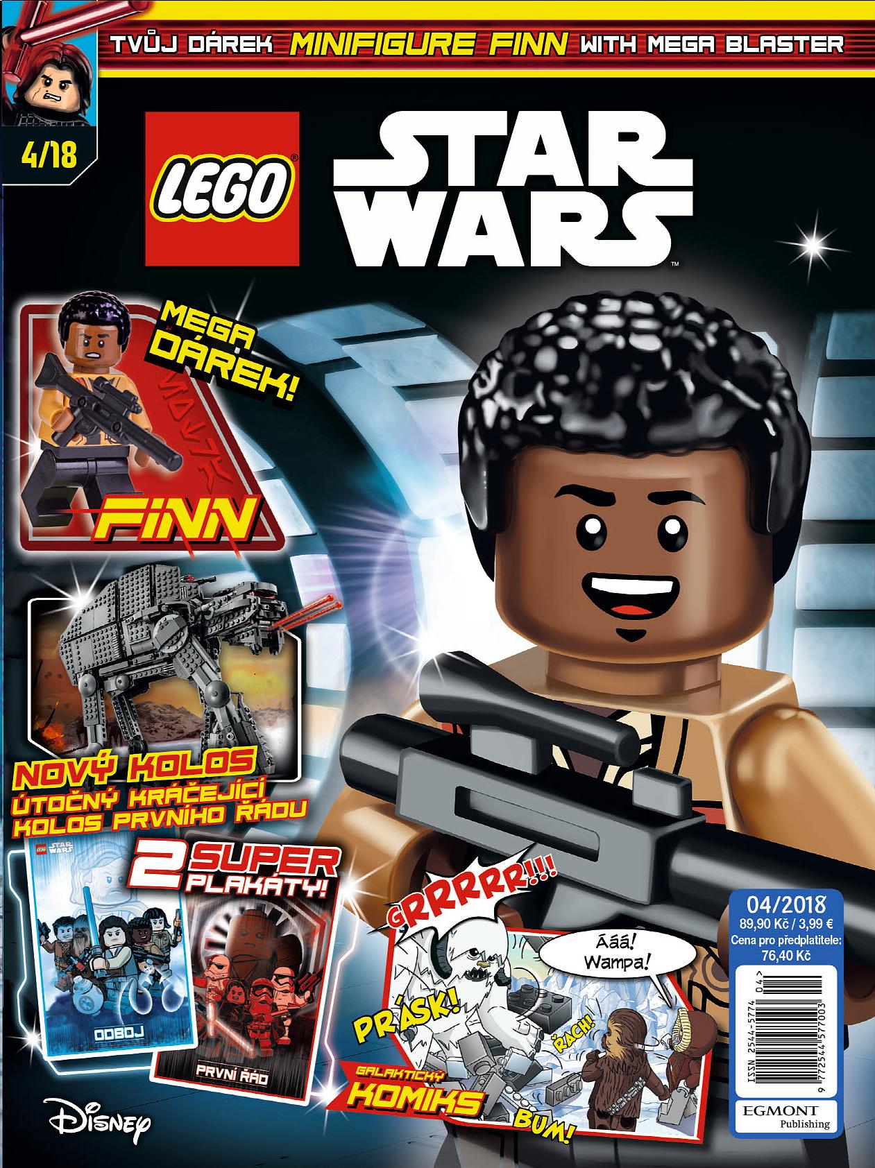 obálka LEGO Star Wars