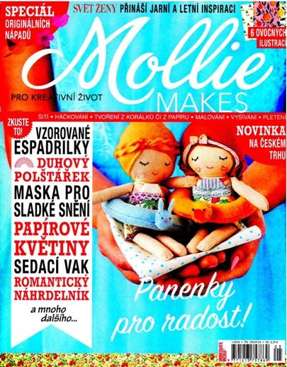 obálka Mollie Makes