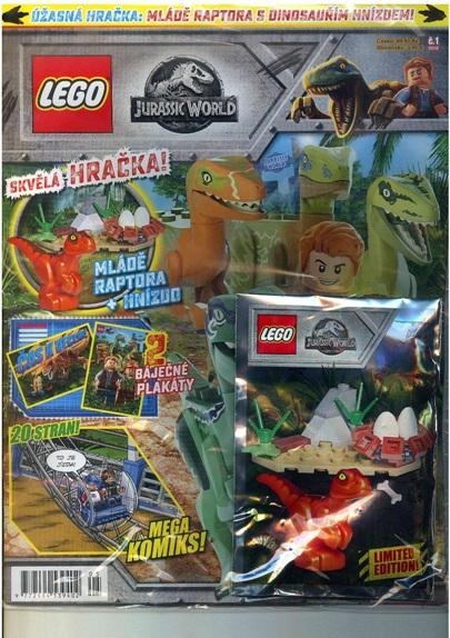 obálka Lego Jurassic world