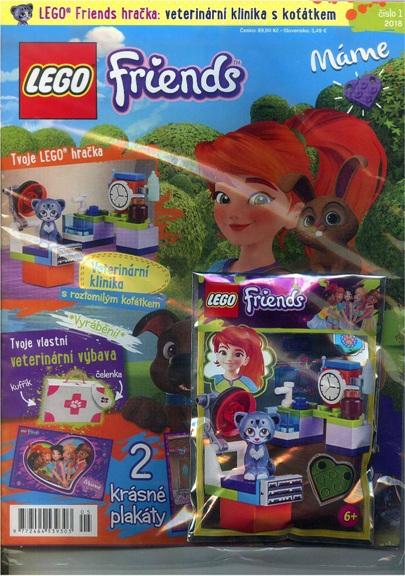 obálka Lego Friends