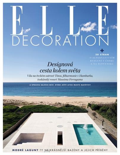 obálka Elle Decoration