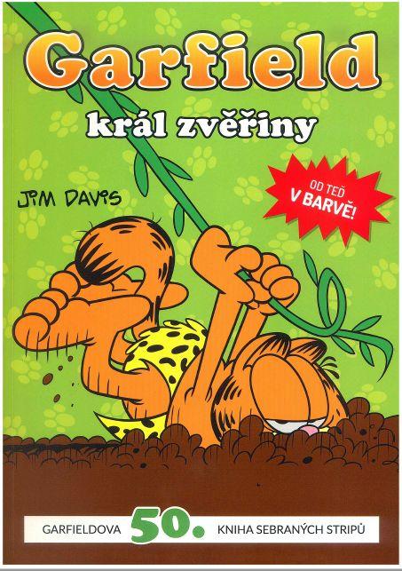 obálka Garfield