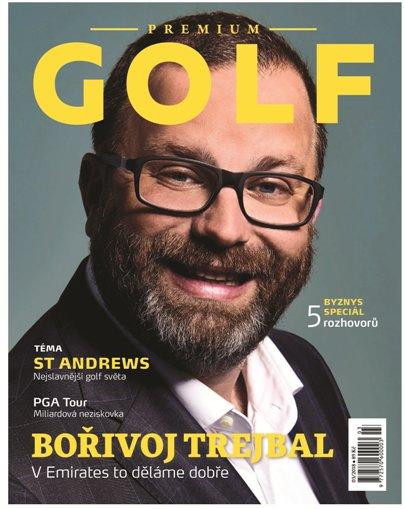 obálka Premium Golf