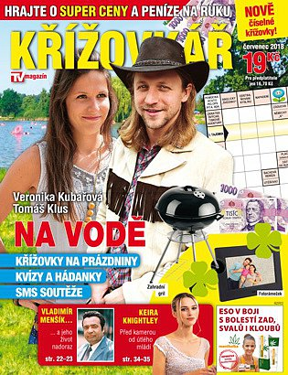 obálka Křížovkář TV Magazín