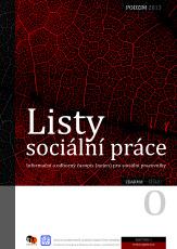 obálka Listy sociální práce