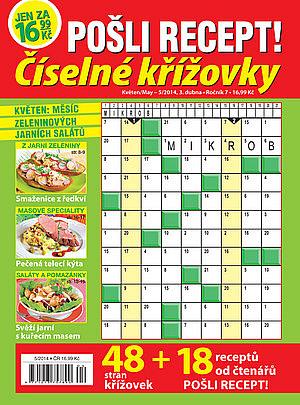 obálka Pošli recept číselné křížovky