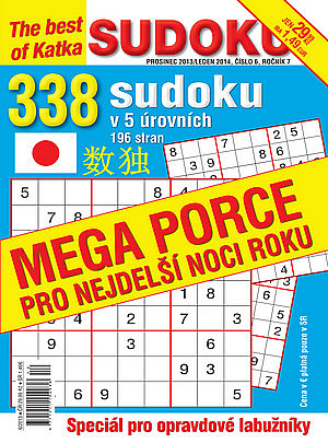 obálka Best of Sudoku