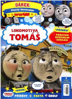 obálka Lokomotiva Tomáš