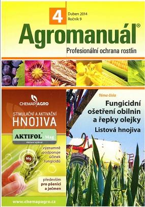 obálka Agromanuál