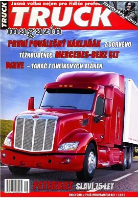 obálka Truck magazín