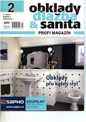 obálka Obklady, dlažba & sanita