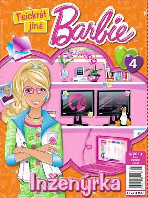 ob�lka Barbie Tis�ckr�t jin�