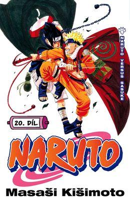 obálka Naruto